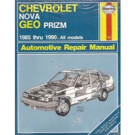 Chevrolet Nova / Geo Prizm Owners workshop manual J. Haynes  Benzine Haynes US 1985-1990 nieuw in folie Engels 1985 1986 1987 1988 1989 1990