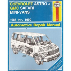 Chevrolet Astro / GMC Safari Owners workshop manual J. Haynes Benzine Haynes US 1985-1990 nieuw in folie Engels 1985 1986 1987 1988 1989 1990