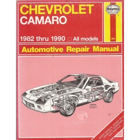 Chevrolet Camaro Owners workshop manual J. Haynes Benzine Haynes US 1982-1990 nieuw in folie Engels 1982 1983 1984 1985 1986 1987 1988 1989 1990