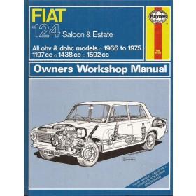 Fiat 124 Owners workshop manual J. Haynes  Benzine Haynes UK 1966-1975 ongebruikt Engels 1966 1967 1968 1969 1970 1971 1972 1973 1974 1975
