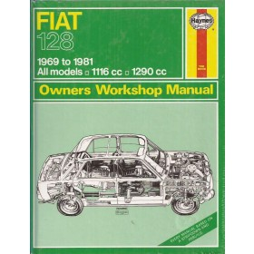 Fiat 128 Owners workshop manual J. Haynes  Benzine Haynes UK 1969-1981 nieuw in folie Engels 1969 1970 1971 1972 1973 1974 1975 1976 1977 1978 1979 1980 1981