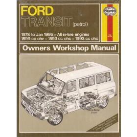 Ford Transit Owners workshop manual J. Haynes  Benzine Haynes UK 1978-1986 nieuw in folie Engels 1978 1979 1980 1981 1982 1983 1984 1985 1986