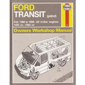 Ford Transit Owners workshop manual J. Haynes  Benzine Haynes UK 1986-1989 nieuw in folie Engels 1986 1987 1988 1989