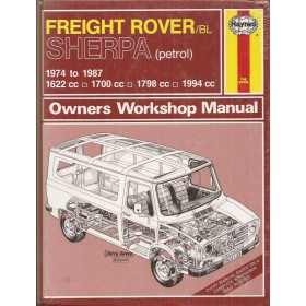 Austin Sherpa Freight Rover Owners workshop manual J. Haynes  Benzine Haynes UK 1974-1987 nieuw in folie Engels 1973 1974 1975 1976 1977 1978 1979 1980 1981 1982