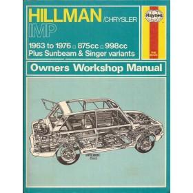Hillman Imp Owners workshop manual J. Haynes  Benzine Haynes UK 1963-1976 ongebruikt Engels 1963 1964 1965 1966 1967 1968 1969 1970 1971 1972 1973 1974 1975 1976