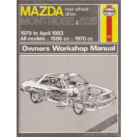 Mazda 626 Montrose Owners workshop manual J. Haynes  Benzine Haynes UK 1979-1983 nieuw in folie Engels 1979 1980 1981 1982 1983