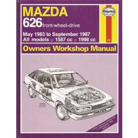 Mazda 626 Owners workshop manual J. Haynes Benzine Haynes UK 1983-1987 ongebruikt Engels 1983 1984 1985 1986 1987