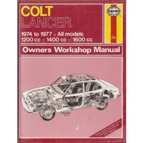 Mitsubishi Colt/Lancer Owners workshop manual J. Haynes Benzine Haynes UK 74-77 nieuw in folie Engels 1974 1975 1976 1977