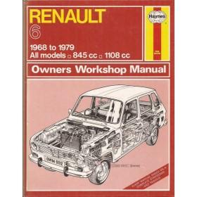 Renault 6 Owners workshop manual J. Haynes  Benzine Haynes UK 1968-1979 ongebruikt Engels 1968 1969 1970 1971 1972 1973 1974 1975 1976 1977 1978 1979