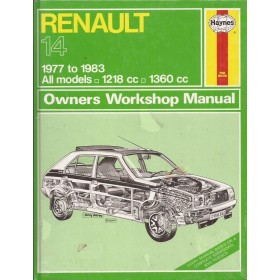 Renault 14 Owners workshop manual J. Haynes  Benzine Haynes UK 1977-1983 nieuw in folie Engels 1977 1978 1979 1980 1981 1982 1983
