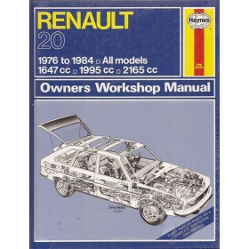 Renault 20 Owners workshop manual J. Haynes Benzine Haynes UK 1976-1984 nieuw in folie Engels 1976 1977 1978 1979 1980 1981 1982 1983 1984