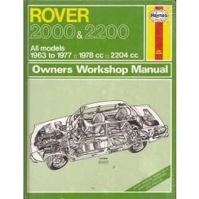 Rover 2000 2200 Owners workshop manual J. Haynes Benzine Haynes UK 1963-1977 nieuw in folie Engels 1963 1964 1965 1966 1967 1968 1969 1970 1971 1972 1973 1974 1975 1976 1977
