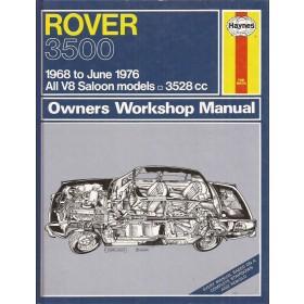 Rover 3500 Owners workshop manual J. Haynes Benzine Haynes UK 1968-1976 ongebruikt Engels 1968 1969 1970 1971 1972 1973 1974 1975 1976