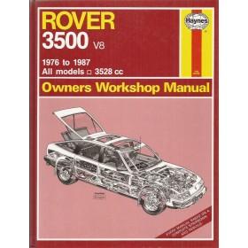 Rover SD1 3500 Owners workshop manual J. Haynes Benzine Haynes UK 1976-1987 ongebruikt Engels 1976 1977 1978 1979 1980 1981 1982 1983 1984 1985 1986 1987