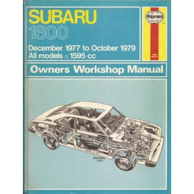 Subaru 1600 Owners workshop manual J. Haynes Benzine Haynes UK 1977-1979 ongebruikt Engels 1977 1978 1979