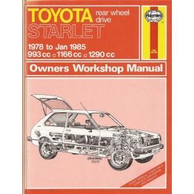 Toyota Starlet Owners workshop manual J. Haynes  Benzine Haynes UK 1978-1985 ongebruikt Engels 1978 1979 1980 1981 1982 1983 1984 1985