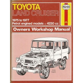 Toyota Land Cruiser Owners workshop manual J. Haynes Benzine Haynes UK 1975-1977 ongebruikt Engels 1975 1976 1977