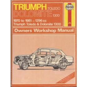 Triumph Toledo/Dolomite Owners workshop manual J. Haynes 1300 Benzine Haynes UK 1970-1981 nieuw in folie Engels 1970 1971 1972 1973 1974 1975 1976 1977 1978 1979 1980 1981