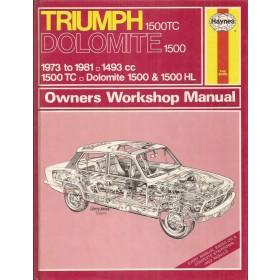 Triumph Dolomite Owners workshop manual J. Haynes 1500 Benzine Haynes UK 1973-1981 ongebruikt Engels 1973 1974 1975 1976 1977 1978 1979 1980 1981
