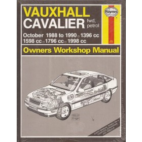 Vauxhall Cavalier Owners workshop manual J. Haynes Benzine Haynes UK 1988-1990 nieuw in folie Engels 1988 1989 1990
