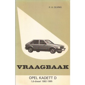 Opel Kadett D Vraagbaak P. Olving  Diesel Kluwer 82-85 ongebruikt   Nederlands