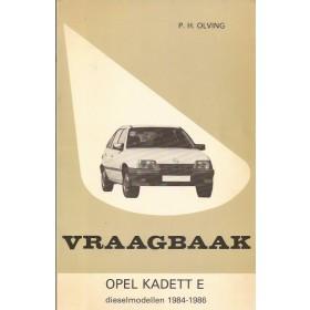Opel Kadett E Vraagbaak P. Olving  Diesel Kluwer 84-86 ongebruikt   Nederlands