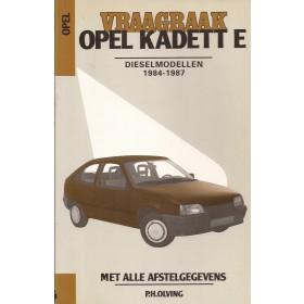 Opel Kadett E Vraagbaak P. Olving  Diesel Kluwer 1984-1987 ongebruikt Nederlands 1984 1985 1986 1987