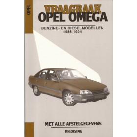 Opel Omega A Vraagbaak P. Olving  Benzine/Diesel Kluwer 86-94 ongebruikt   Nederlands