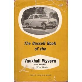 Vauxhall Wyvern Cassel Book E. Hawks   Cassel 51-57 met gebruikssporen   Engels