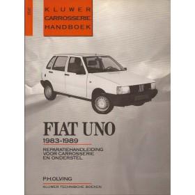 Fiat Uno Kluwer carrosserie boek P. Olving  Benzine/Diesel Kluwer 83-89 ongebruikt   Nederlands