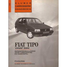 Fiat Tipo Kluwer carrosserie boek P. Olving  Benzine/Diesel Kluwer 89-90 ongebruikt   Nederlands