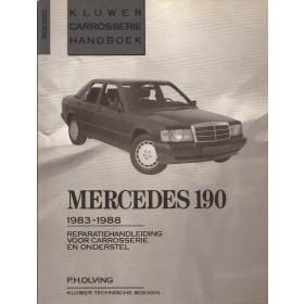 Mercedes-Benz 190 Kluwer carrosserie boek P. Olving W201 Benzine/Diesel Kluwer 83-88 ongebruikt   Nederlands