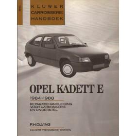 Opel Kadett E Kluwer carrosserie boek P. Olving  Benzine/Diesel Kluwer 84-88 ongebruikt   Nederlands