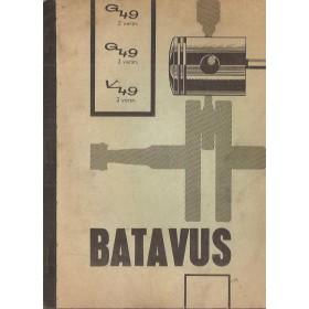 Batavus G49/V49 Onderdelengids  JLO Mengsmering  64 met gebruikssporen hoek af van pagina  Nederlands