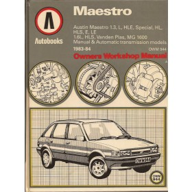 Austin Maestro Owners Workshop Manual K. Ball  Benzine Autobooks 83-84 ongebruikt   Engels