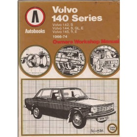 Volvo 142/144/145 Owners Workshop Manual K. Ball  Benzine Autobooks 66-74 met gebruikssporen   Engels