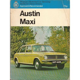 Austin Maxi Pearson's Illustrated Car Servicing Hamlyn  Benzine Pearson 69-73 met gebruikssporen   Engels