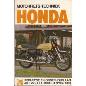 Honda CB750 Peters Motorfiets techniek   Benzine Peters 69-79 met gebruikssporen   Nederlands