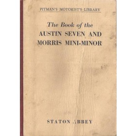 Austin/Morris Seven/Mini-Minor Pitman's Handbook S. Abbey   Pitman Publishing 61 met gebruikssporen   Engels