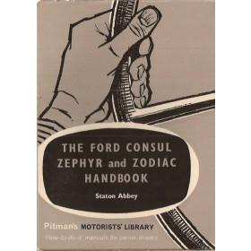 Ford Consul/Zephyr/Zodiac Pitman's Handbook S. Abbey   Pitman Publishing 58-65 ongebruikt   Engels