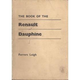 Renault Dauphine/Floride Pitman's Handbook F. Leigh   Pitman Publishing 60-66 met gebruikssporen   Engels