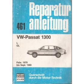 Volkswagen Passat Querschnitt Reparaturanleitung A. Bucheli 1300 Benzine Verlag Bucheli 79-80 met gebruikssporen   Duits