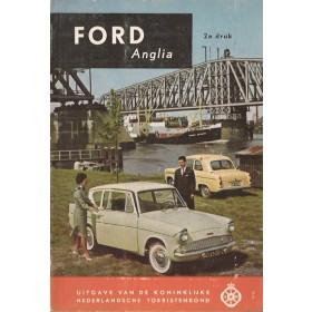 Ford Anglia Technische gegevens en praktische wenken H. Bouvy  Benzine ANWB 61 ongebruikt   Nederlands