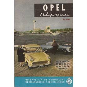 Opel Olympia Technische gegevens en praktische wenken H. Bouvy  Benzine ANWB 63 ongebruikt   Nederlands