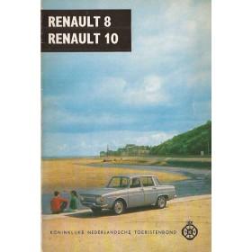Renault 8/10 Technische gegevens en praktische wenken H. Bouvy  Benzine ANWB 67 ongebruikt   Nederlands