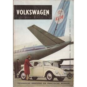 Volkswagen Kever Technische gegevens en praktische wenken H. Bouvy Benzine ANWB 61 ongebruikt Nederlands