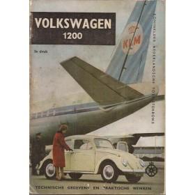 Volkswagen Kever 1200 Technische gegevens en praktische wenken H. Bouvy Benzine ANWB 61 met gebruikssporen Nederlands