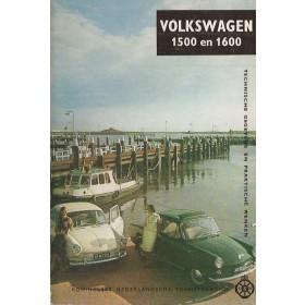 Volkswagen Ponton Technische gegevens en praktische wenken  1500/1600 Benzine ANWB 66 met gebruikssporen   Nederlands