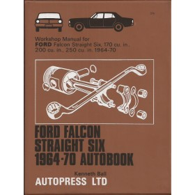 Ford Falcon Workshop Manual K. Ball Benzine Autopress 64-70 ongebruikt Engels
