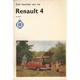 Renault 4 Zelf sleutelen aan P. Bos  Benzine ANWB 70 met gebruikssporen   Nederlands